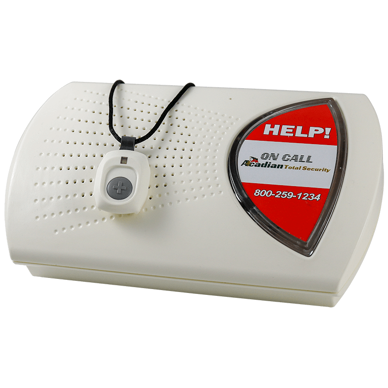 Landline Medical Alert System with Pendant Help Button